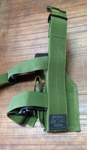 TACTICAL TAILOR レッグホルスター OD M1911、グロック、SIG P226R、ベレッタ92FS対応の写真1