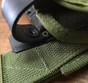 TACTICAL TAILOR レッグホルスター OD M1911、グロック、SIG P226R、ベレッタ92FS対応の写真4