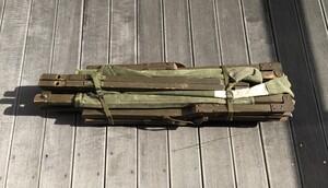 米軍 GIコット 木製 折り畳みベッド ミリタリー アンティークの写真1