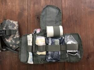 米陸軍 実物 IFAK ファーストエイドキット ACU 止血帯の写真0