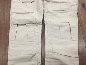 タクティカルパンツ スリムタイプ TAN 30インチ ミリタリー ファッションの写真4
