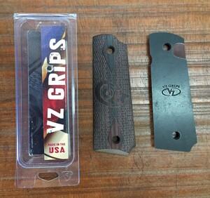 VZ GRIPS カスタムグリップ ダブルダイアモンド コルト刻印 M1911フルサイズの写真3