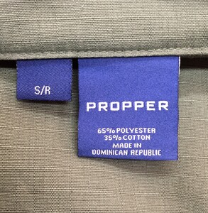 PROPPER バトルリップ TAC-Uコート OD S/Rサイズ の写真3
