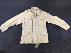 米軍 ALPHA フィールドジャケット M65 カーキ S-Rの写真0