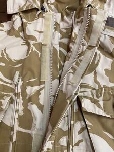 イギリス軍 MVPパーカー コンバットスモック デザートカモ 180/96 ミリタリーの写真5