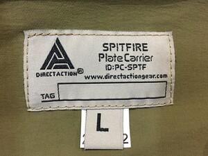 DIRECT ACTION プレートキャリア SPITFIRE マルチカム Lサイズの写真4