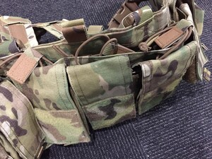 MAYFLOWER HK417 Recce Chest Rig マルチカムの写真4