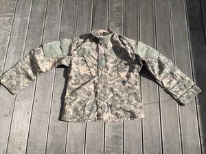 米軍 コンバットユニフォーム 上下セット ACU M-XSサイズ ミリタリーの写真1