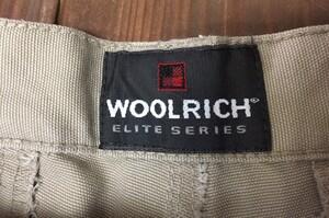 WOOLRICH タクティカルパンツ 4904 エリートライトウェイト 28 カーキの写真3