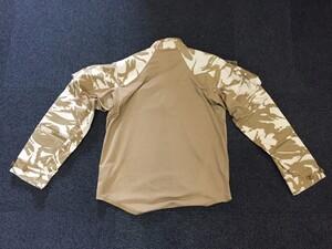 イギリス軍 コンバットシャツ デザートカモ Mサイズ ミリタリー サバゲーの写真1