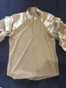 イギリス軍 コンバットシャツ デザートカモ Mサイズ ミリタリー サバゲーの写真2