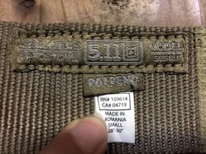 5.11 Tactical リガーベルト 59569 マーベリックアサルト サンドストーンの写真6