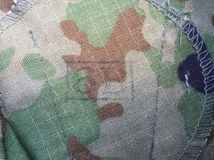 陸自迷彩 夏用戦闘服 レプリカ 上下セット 麻混3型 6Bサイズの写真3
