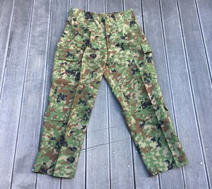 陸自迷彩 夏用戦闘服 レプリカ 上下セット 麻混3型 6Bサイズの写真5