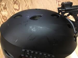 PT Helmet A-ALPHA Half Shell 樹脂製の写真3