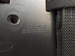 Safariland レッグホルスター SIG P220 P226 右用の写真2