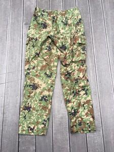 陸自迷彩2型 夏用作業服 ベルト付き サイズ表記3A ミリタリー コスプレの写真6
