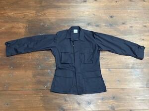 アメリカ軍 デッドストック BDUジャケット 黒 S-R ミリタリーの写真0