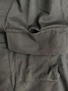 アメリカ軍 デッドストック BDUジャケット 黒 S-R ミリタリーの写真5