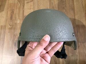 米軍 実物 TBH ヘルメット LTWT FGの写真1