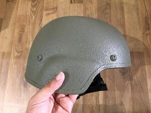 米軍 実物 TBH ヘルメット LTWT FGの写真3