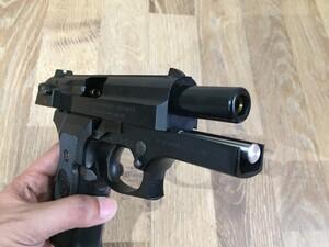 KSC ガスガン ベレッタ M8000 クーガーF 付属品ありの写真6