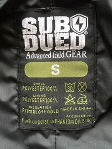 SUBDUED アンブッシュジャケット MHAK DRY LEAVES Sサイズの写真6