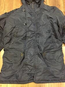 VALLEY APPAREL N-3B 防寒ジャケット ネイビー XLサイズの写真1
