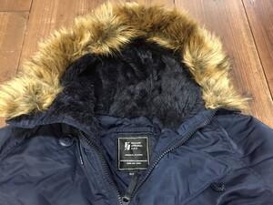 VALLEY APPAREL N-3B 防寒ジャケット ネイビー XLサイズの写真2