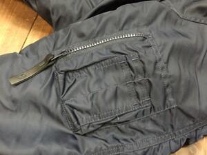 VALLEY APPAREL N-3B 防寒ジャケット ネイビー XLサイズの写真7