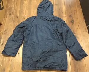 VALLEY APPAREL N-3B 防寒ジャケット ネイビー XLサイズの写真8