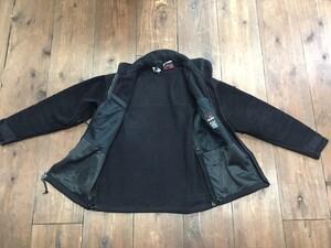 米軍 実物 ECWCS フリースジャケット GEN2 黒の写真2