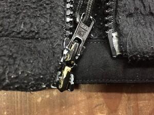 米軍 実物 ECWCS フリースジャケット GEN2 黒の写真4