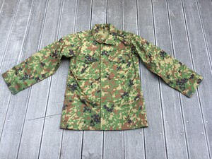 陸上自衛隊 迷彩服 3型 TC 5Aサイズ 上下セットベルト付きの写真1
