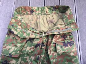 陸上自衛隊 迷彩服 3型 TC 5Aサイズ 上下セットベルト付きの写真6