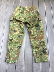 陸上自衛隊 迷彩服 3型 TC 5Aサイズ 上下セットベルト付きの写真7