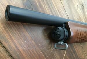 S&T レミントンタイプ M870 エアーポンプアクションショットガン SPG07 リアルウッドの写真4