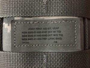 米空軍 JFAK 救急キット 内容品入り ABU エアフォースの写真8