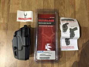 Safariland ホルスター Glock19 BK 右用 6379-283-411の写真0