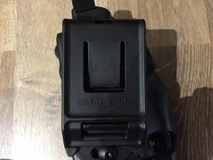 Safariland ホルスター Glock19 BK 右用 6379-283-411の写真3