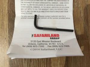 Safariland ホルスター 92F/M9A1対応 6379 ALS 右用の写真9