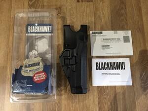 BLACKHAWK CQCホルスター M92/96用 LV.2 右用 実物の写真0