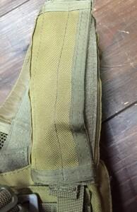 詳細不明 プレートキャリア コヨーテ ケミカルライト・装備品付き ミリタリー サバゲーの写真7