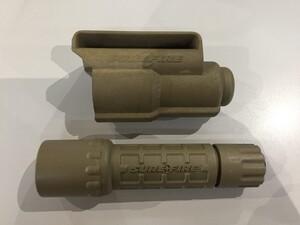 SUREFIRE タクティカルライト G2 ナイトロン コヨーテ V70ホルスター付きの写真0