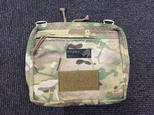 Kifaru 500D オーガナイザーポケット MC バッグ 小物入れの写真0