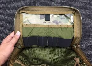 Kifaru 500D オーガナイザーポケット MC バッグ 小物入れの写真5