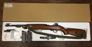 マルシン ガスブローバックライフル M2カービン 6mmBB弾仕様 予備マガジン2本 マウントベースセットの写真0