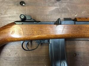マルシン ガスブローバックライフル M2カービン 6mmBB弾仕様 予備マガジン2本 マウントベースセットの写真6