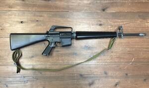 東京マルイ 電動ガン M16ベトナム 初期型再現加工品 パーツ欠品有り ウッドランドガンケースセットの写真5