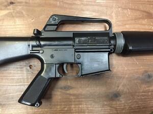 東京マルイ 電動ガン M16ベトナム 初期型再現加工品 パーツ欠品有り ウッドランドガンケースセットの写真6